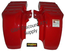 Honda Atc 250ES Big Red Maier Rear Fenders Set
