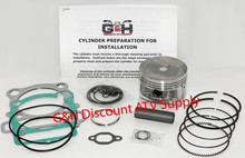 Yamaha YFM 350 Big Bear Engine Top Rebuild Kit & Cylinder Machining Service