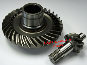2004 2006 Yamaha Yfm350 Bruin Differential Rear Ring Pinion Gear Set Free Us Shipping