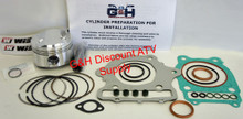 85-86 Honda Atc 350X 350 X Engine Motor Top End Rebuild Kit Machining Service