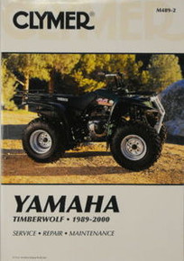 Yamaha 250 Timberwolf Four-Wheeler CLYMER Repair Manual