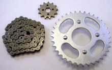 1973-81 Honda Atc 70 Three-Wheeler Chain & Sprocket Set *FREE U.S. SHIPPING*