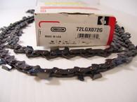 Oregon Sawchain Loop 72LGX081G 3/8 050 gauge 1.3 mm 81 link ECHO HOMELITE McCULLOCH 1-10 10-10  NEW