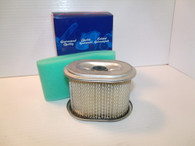 Honda Engine Air filter 6690 17210-ZE1-821 W/WRAP  Fits most 3-1/2 5-1/2  GX110 GX120 GX140 GX160 NEW