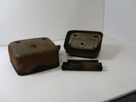 Pioneer chainsaw 1200 1200A  Muffler w/o bolts   Used