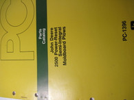 John Deere Parts Catalog 2500 Power Reset Moldboard Plows -ORIG