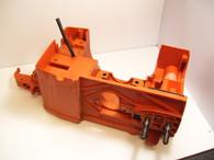 Husqvarna Chainsaw 40 45 49 series Engine Housing oil gas tanks orange Used