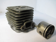Weed Eater Poulan Trimmer Piston Cylinder BC2500 Featherlite Extreme XT250 Used