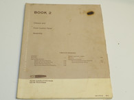 Heathkit 595-1679-03 book 2  Inline Gun/Slotted Mask Television Manual control panel bk-2