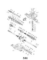 AYP Craftsman Foote Spicer  Foote 4360-128 Transaxle 134796 5202 Spur Gear 170269
