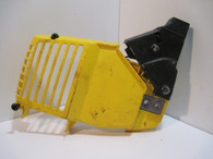 McCULLOCH Chainsaw Chain Brake clutch cover Yellow FR2.3  MacCAT 2116 3516 Used