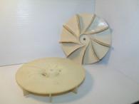 Homelite John Deere Blower Fan IMPELLER BH25 25LE BH30 UT08055 UT08094 UT08112 Used