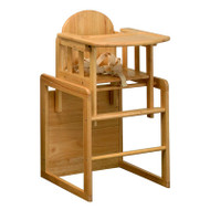 East Coast Combination Highchair - Natural