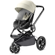 Quinny Moodd Black Pushchair - Reworked Grey