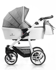 Venicci Pure Collection 3in1 Travel System - Denim Grey