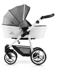 Venicci Pure Collection 2in1 Travel System -  Denim Grey