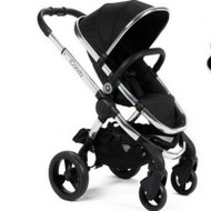 iCandy Peach Pushchair Black Magic Chrome Chassis
