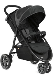 Joie Litetrax 3-wheel  (inc. Footmuff) - Midnight