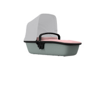 Quinny Lux Carrycot - Blush on Grey