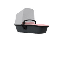 Quinny Lux Carrycot - Blush on Graphite