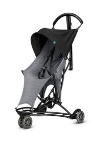 Quinny Yezz Air Stroller + Yezz Raincover - Black & White