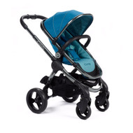 iCandy Peach Pushchair - Peacock + Carrycot + Maxi-Cosi Cabriofix Car Seat + Universal Adapters
