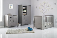 Obaby Stamford 3 Piece Room Set -grey