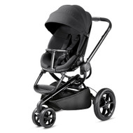 Quinny Moodd Pushchair and Rock Infant Carrier- Black Devotion