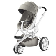 Quinny Moodd Pushchair and Rock Infant Carrier-  Grey Gravel