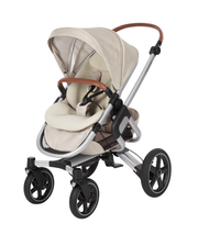 Maxi-Cosi Nova Pushchair + Maxi-Cosi Oria Carrycot + Maxi-Cosi Pebble Plus Car Seat - Nomad Sand 4 Wheel