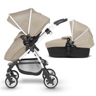 Silver Cross Wayfarer Pushchair (11 Piece Bundle) - Linen