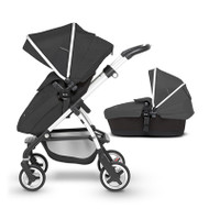 Silver Cross Wayfarer Pushchair (11 Piece Bundle) - Onyx