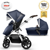 Silver Cross Wave Pushchair - Midnight Blue