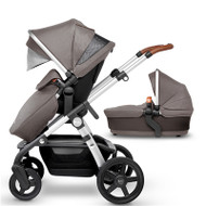 Silver Cross Wave Pushchair With Free Matching Car Seat And Isofix Base  - Sable