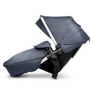 Silver Cross Wave Tandem Seat Unit - Midnight Blue