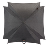 Silver Cross Wave Parasol - Granite