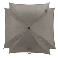 Silver Cross Wave Parasol - Sable