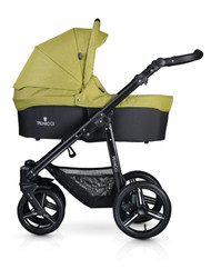 Venicci Soft Edition 2 in 1 Travel System - Denim Green