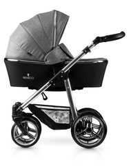 Venicci® Silver 2 in 1 Travel System  - Denim Grey