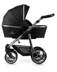 Venicci® Silver 2 in 1 Travel System  - Black