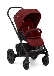 Joie Chrome DLX & carrycot  & Gemm - Cranberry
