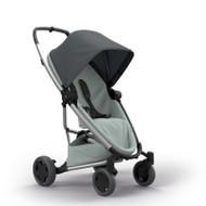 Quinny Zapp Flex Plus + Lux Carrycot + Pebble Plus + Changing Bag  - Graphite on Grey