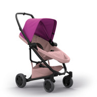 Quinny Zapp Flex Plus + Lux Carrycot + Pebble Plus + Changing Bag - Pink on Blush