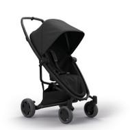 Quinny Zapp Flex Plus + Lux Carrycot + Pebble Plus + Changing Bag - Black on Black