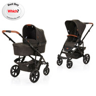 Obaby ABC Design 2018 Salsa 4 Pushchair & Carrycot - Piano