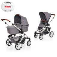 Obaby ABC Design 2018 Salsa 4 Pushchair & Carrycot - Race