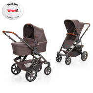 Obaby ABC Design 2018 Salsa 4 Pushchair & Carrycot - Walnut