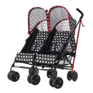 Obaby Apollo Twin Stroller - Crossfire