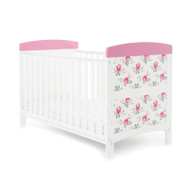 Obaby Grace Inspire Cot Bed  - Cottage Rose