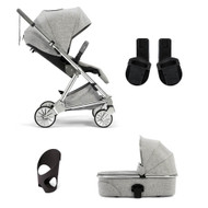 Mamas & Papas Urbo2 4 Piece Bundle - Skyline Grey